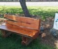 Check out the new bench at the Arboretum!