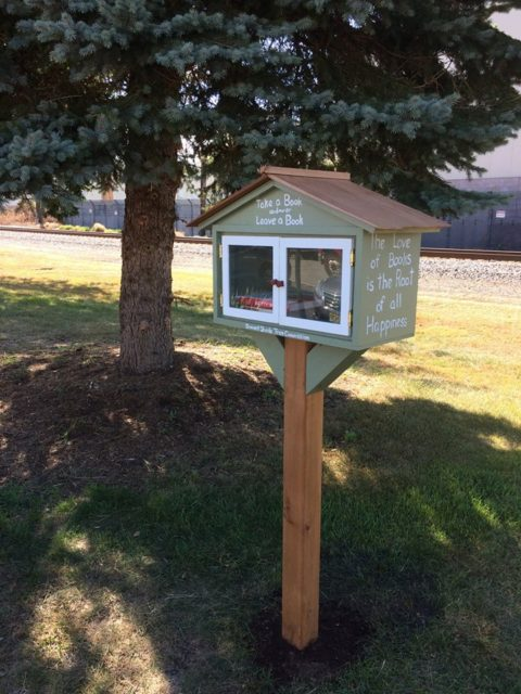 New Lending Library at the Arboretum